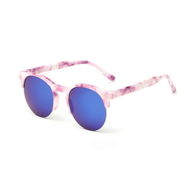 c77a8ab0a0 2016 New Children round Sunglasses Kids Designer Sport Shades For Girls Boys  Goggle Baby Glasses Oculos