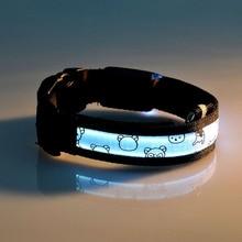 Nylon Dog Collar USB or Battery
