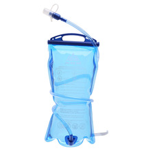 1.5L/2L/3L Foldable Water Bottle Pouch Outdoor Sport Camp Hike Clear Drink Water Bag Health Storage Large Capacity Tube Clip