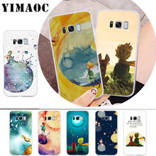 YIMAOC The Little Prince and the Fox Soft Case for Samsung A5 2017 A6 Plus 2018 A8 A9 A10 A30 A40 A50 A70 M10 M20 M30(China)