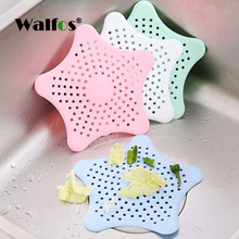 1Pc Silicone Kitchen Sink Filter Sewer Drain Hair Colanders Strainers Bathroom Home Cleaning Tool