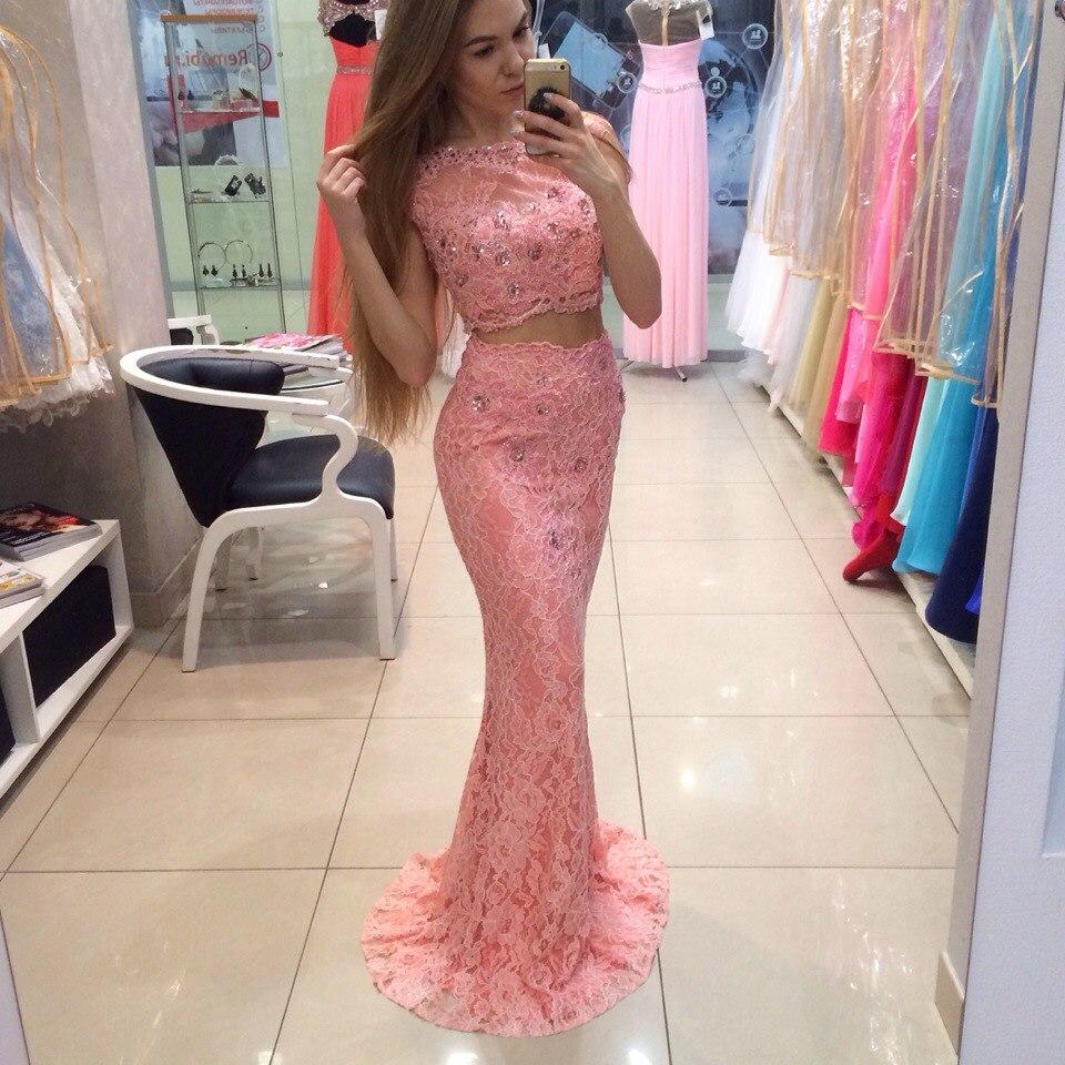 Bonito Más El Vestido Del Prom Del Tamaño Sirena Patrón - Ideas de ...