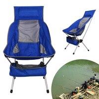 Rallongent Portable Chaise De Pêche Professionnel Pliant Camping Tabouret Siège Chaise De Pêche Léger Chaise Pour Pique-Nique BARBECUE Avec Sac