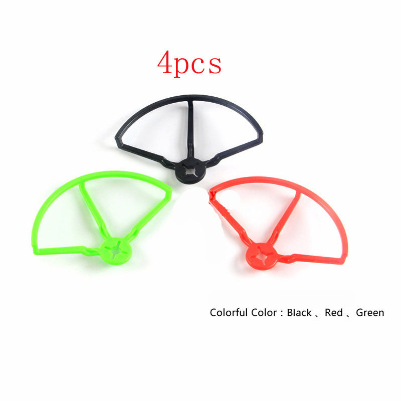 4pcs/lot 4 inch 5 Propeller Guard 4045 <font><b>5040</b></font> 5045 <font><b>Props</b></font> Protector Bumper CW CCW Paddle Protective Ring for Racing FPV image