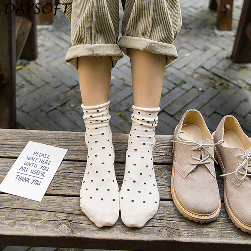 DAYSOFT Harajuku Dot Women Sock
