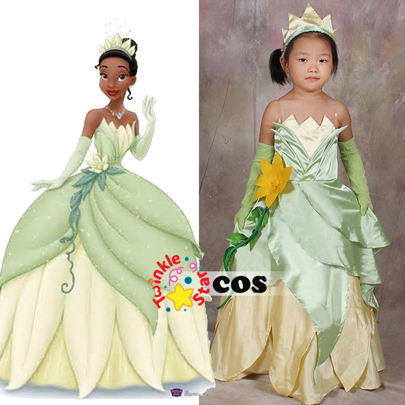 halloween costume  kids  princess   frog