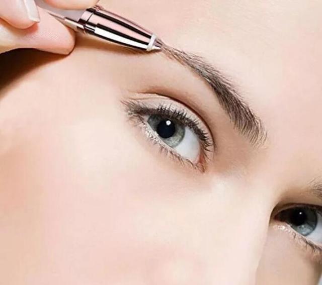 Electric Eye Brows Epilator Eyebrow Trimmer Mini Painless Eye Brow Epilator For Women Eyebrow Trimmer Mini Shaver Razors