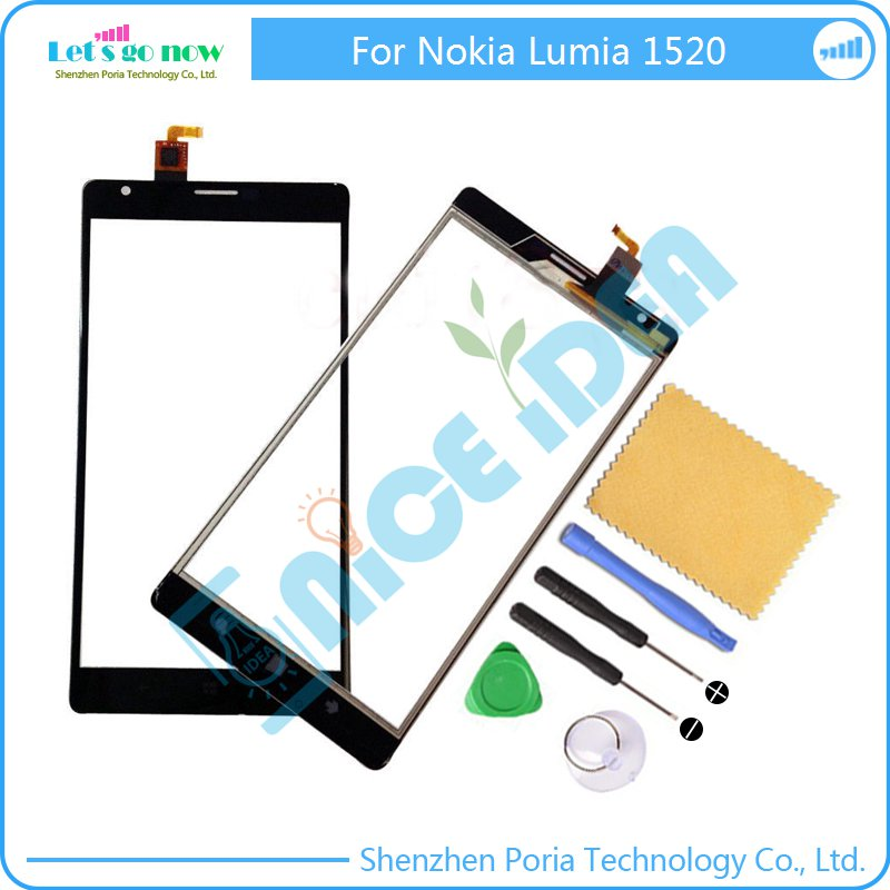 New Touch Screen Digitizer Replacement For Nokia Lumia 1520 Touch Panel Glass Sensor Touchscreen With Tools New Touch Screen Digitizer Replacement For Nokia Lumia 1520 Touch Panel Glass Sensor Touchscreen With Tools