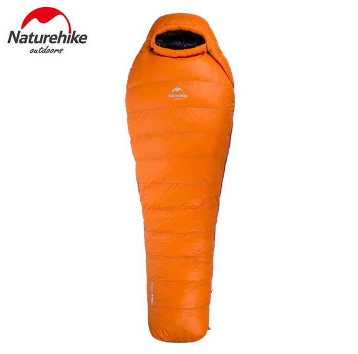 NatureHike Outdoor Mummy Down Sleeping Bags Filling Adult Outdoor Heat Preservation Winter Camping Single Sleeping Bag