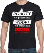 KOBIETY NIE ZROZUMIESZ Meska Zabawna Koszulka Polska Polski Polish Funny T-shirt Short Sleeve T Shirt Fashion