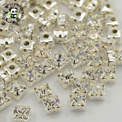 SWAROVSKI Européen Pendre Bracelet Charm en acier inoxydable BeCharmed Pave cristal