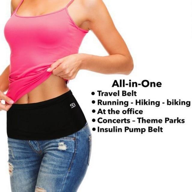 Ultra - wide sports Outdoor Running Waist Bag Gym Fitness Bag Sport Accessories 3