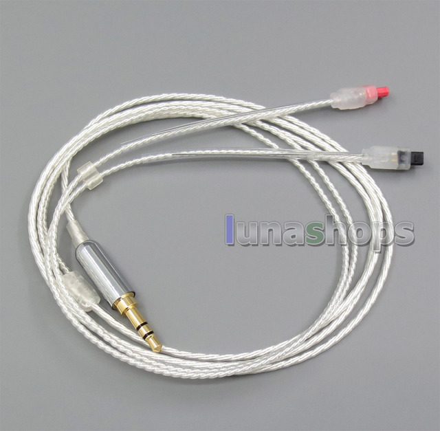 With Hook Earphone Cable For audio-technic ATH-IM50 ATH-IM70 ATH-IM01 ATH-IM02 ATH-IM03 ATH-IM04