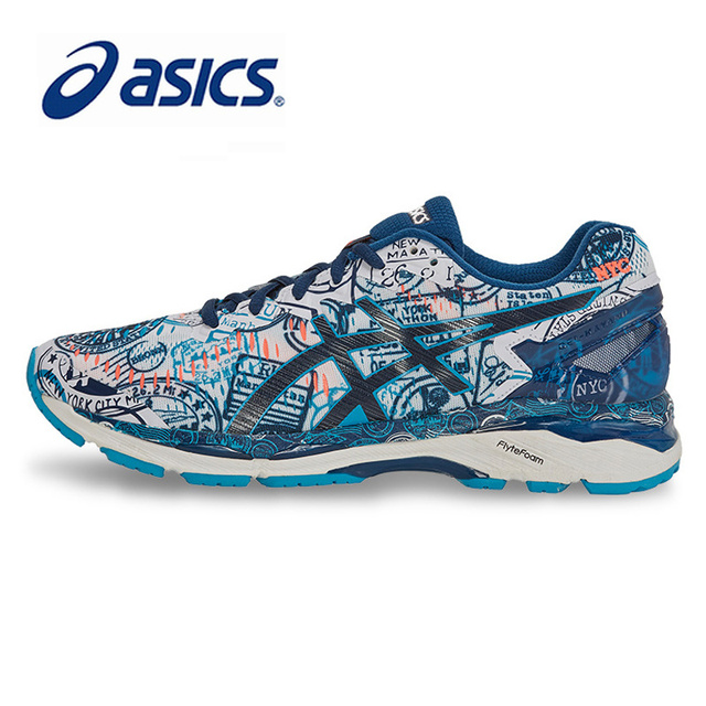 huge selection of a97d2 1662c US $111.45 23% OFF|Original Authentic ASICS Men Shoes GEL KAYANO 23  Breathable Cushion Running Shoes Sports Sneakers Outdoor Athletic  Comfortable-in ...