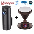DDPai M6 Plus and mini Dash Cam for Front & Rear Recording Wireless WIFI Car DVR Recorder GPS Car Camera