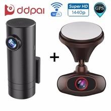 DDPai M6 Plus and mini Dash Cam for Front & Rear Recording Wireless WIFI Car DVR Recorder GPS Car Camera