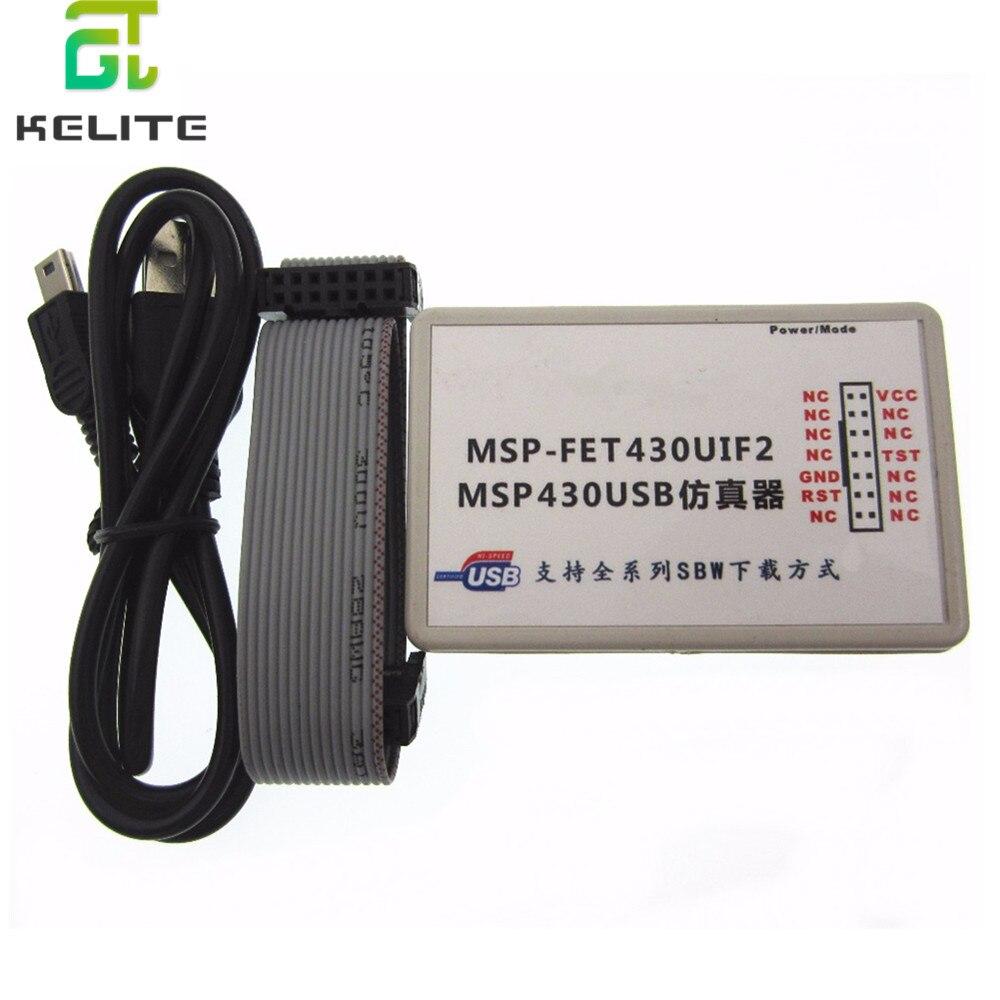 1Sets USB MSP430 simulator The MSP-FET430UIF BSL SBW JTAG automatic upgrade firmware new1Sets USB MSP430 simulator The MSP-FET430UIF BSL SBW JTAG automatic upgrade firmware new
