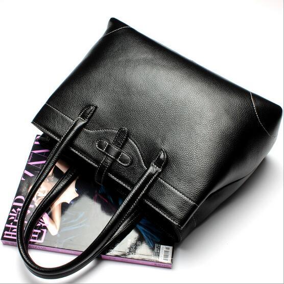new fashion Genuine font b leather b font famous luxury font b handbags b font Practical