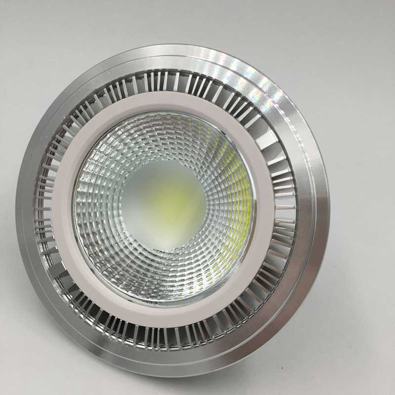 15W COB LED AR 111 LED ES111 QR111 GU10 G53 220V 110V 7W 9W 12W LED AR111 Lamps AC85-265V Warm Cold White Replace Halogen Lamp цена и фото