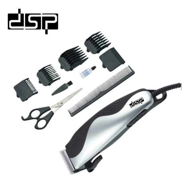 Dsp Metal Haircut Kit Professional Rechargable Electric Hair Clipper