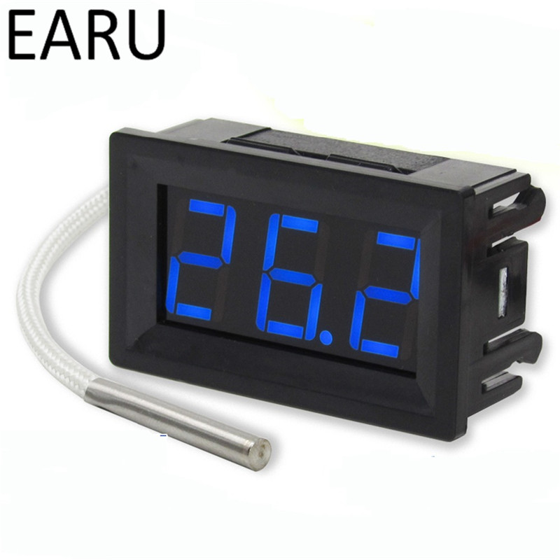 XH-B310 Thermocouple Meter Gauge LED Display Industrial Digital thermometer -30 ~ 800 Degree with K Type Thermocouple M6 Thread dt1311 digital thermometer k type thermocouple thermometer with 1m thermocouple wire and nr 81531b surface thermocouple