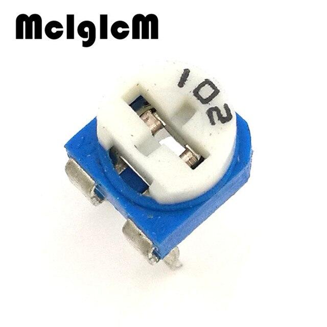 F014-2 50pcs RM065 RM-065 1K ohm 102 Trimpot Trimmer Potentiometer variable resistor