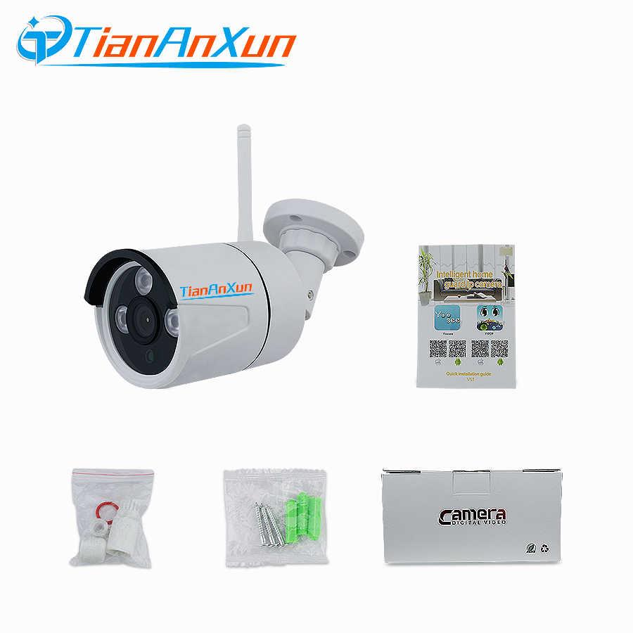 Tiananxun yoosee IP камера, Wi-Fi, 1080P открытый Беспроводной камеры Wi-Fi 720P Домашняя безопасность cctv наблюдения аудио SD карты запись