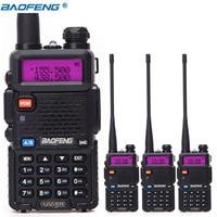 4pcs BaoFeng UV 5R Walkie Talkie VHF/UHF 136 174Mhz&400 520Mhz Dual Band CB radio Baofeng uv 5r Portable Walkie talkie uv5r