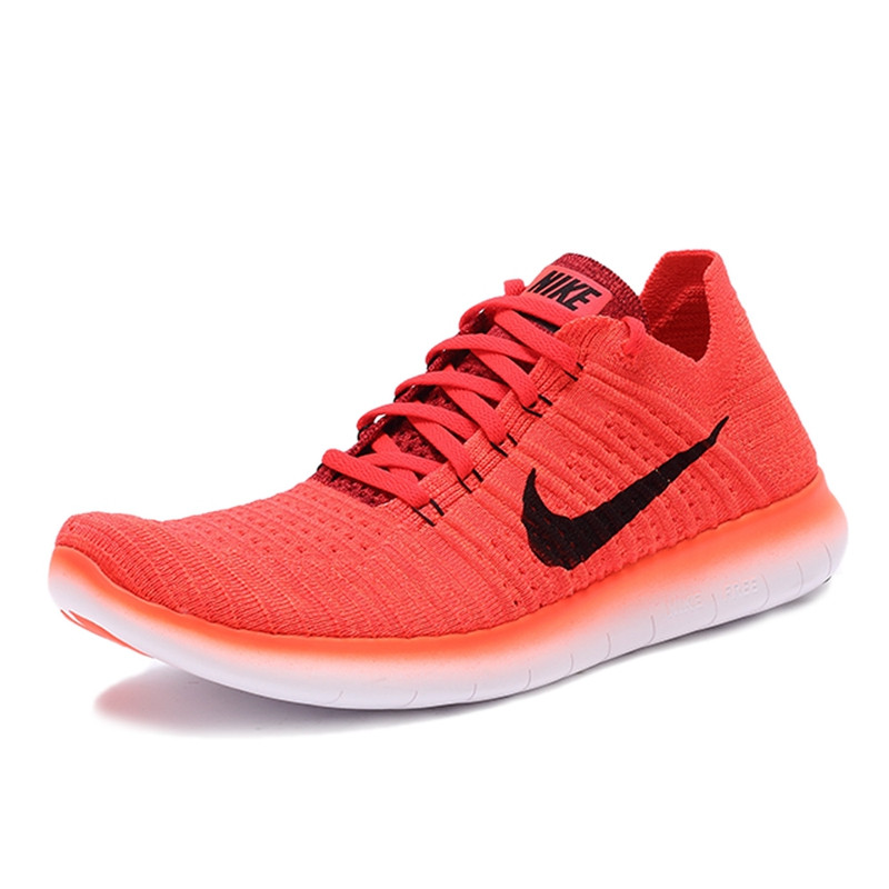 the latest 733aa 3dad5 NIKE FREE RN FLYKNIT Original New Arrival Official Men s Running Shoes  Breathable Sneakers Trainers-in Running Shoes from Sports   Entertainment  on ...