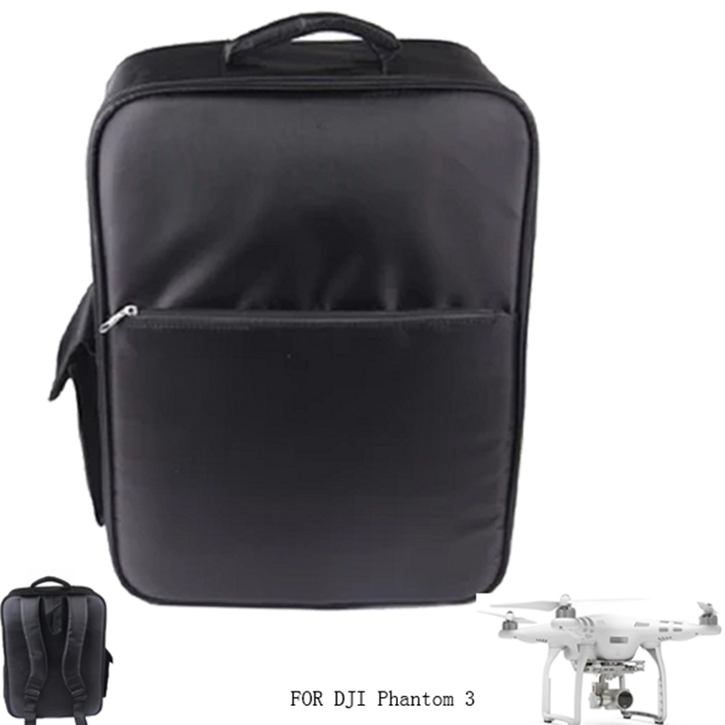 FPV Quadcopter Backpack For DJI Phantom 3 Drone Bag Outdoor Shoulder Bag Carry Box Waterproof Durable Nylon Black Rc Toys Parts