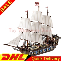 LEPIN 22001 Pirates Series The Imperial Flagship Model Building Blocks Set Pirate Ship Lepins Toys For