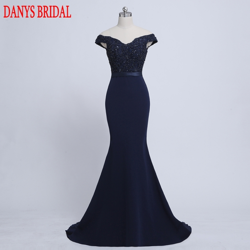 Sexy Long Lace Mermaid   Evening     Dresses   Party Beaded Women Prom   Dress   Formal   Evening   Gowns   Dresses   on Sale vestido de festa