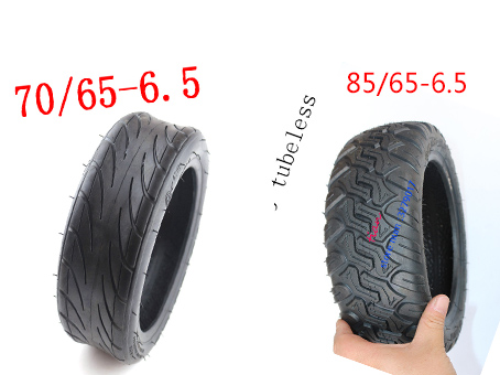 Xiaomi Mini Scooter Tires 85/65-6.5 Electric Balance Scooter Off-Road Tubeless Vacuum Tyre DIY for Mini Pro Balance Scooter image