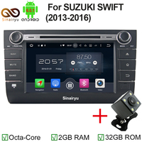 Android 6 0 Car DVD Player Navigation For SUZUKI SWIFI 2004 2010 Car Audio Stereo Head