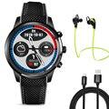 Lemfo LEM5 Smart Watch Android 5.1 OS MTK6580 Quad Core smartwatch телефон Поддержка Bluetooth GPS WI-FI NANO SIM Сердечного ритма монитор