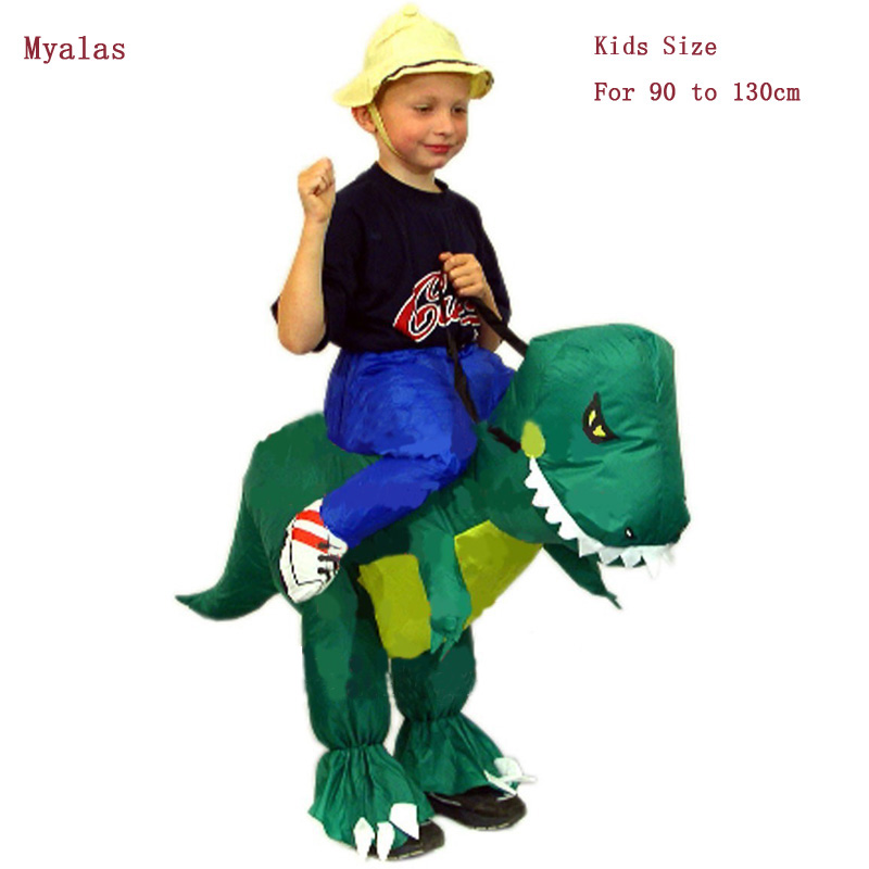 Kids Dinosaur Inflatable Costumes Halloween Costume For Kids christmas costumes Funny Carnival Costumes Apparel & Accessories
