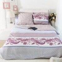 LILIYA Cotton Bedding Sets 4 6Pieces Soft Duvet Cover SetsXM 12