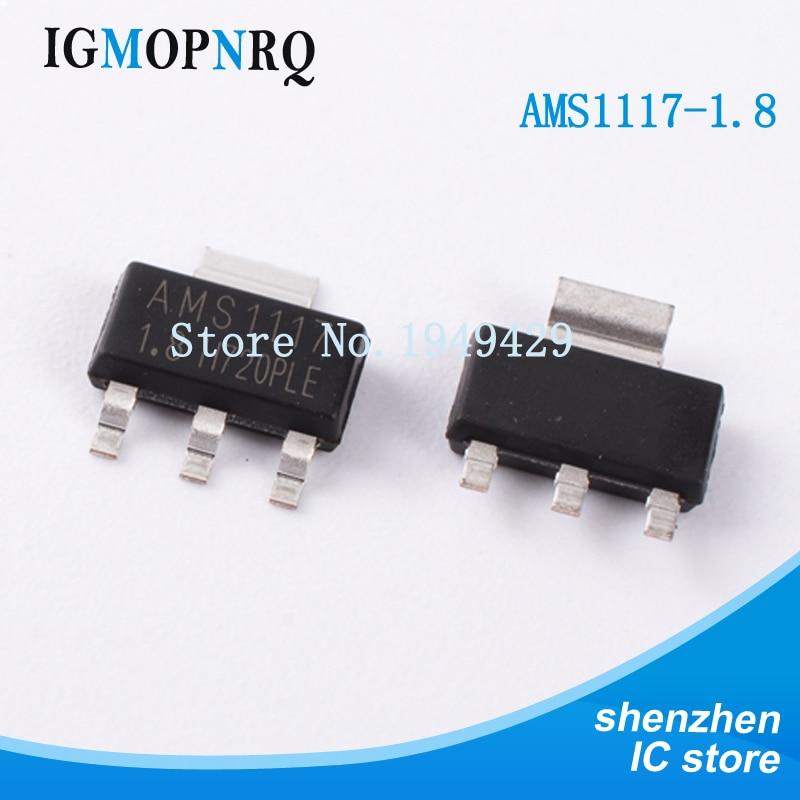 New 10Pcs AMS1117-5.0 LM1117 5V 1A SOT-223 LDO Voltage Regulator High Quality