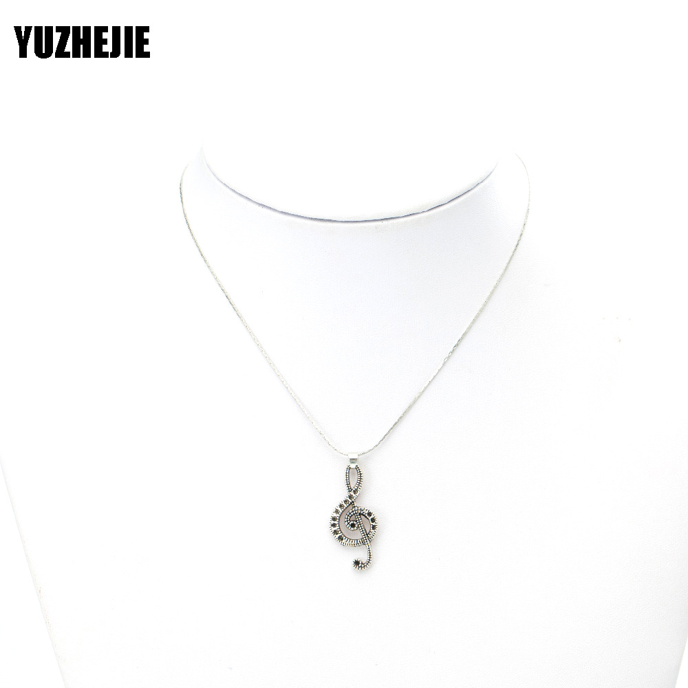 YUZHEJIE (20PC)Womens Mens Simple Alloy Frog tiger yaga music football pendant Necklace Diverse Shape Necklace