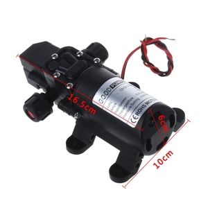 Image 5 - Мембранный самовсасывающий насос высокого давления, 12 В постоянного тока, 130 фунтов на кв. дюйм, 6 л/мин, 70 Вт