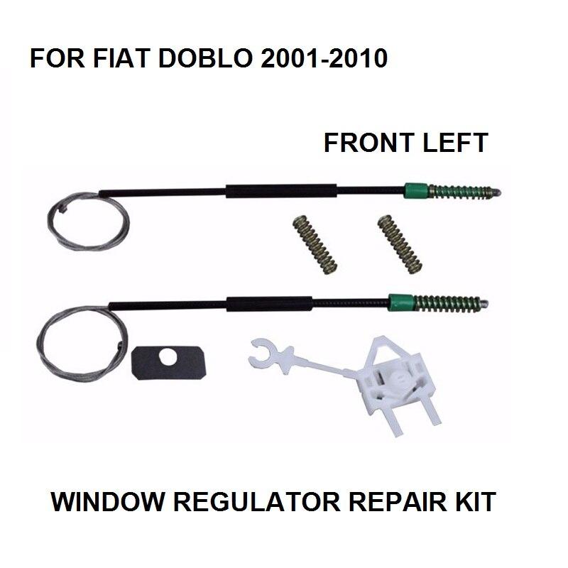 FOR FIAT DOBLO ELECTRIC WINDOW REGULATOR REPAIR KIT FRONT-LEFT 2001-2010 NEW
