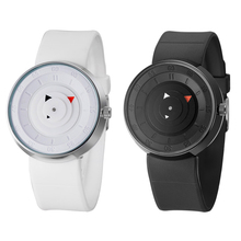 Lovers Break watches women men creative black matte watches black silicone strap sports casual quartz watches reloj negro mujer