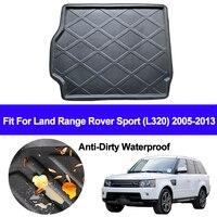 Auto Hinten Trunk Cargo Mat Fach Boot Liner Teppich Protector Boden Pad Matten Für Land Range Rover Sport L320 2005  2011 2012 2013 auf