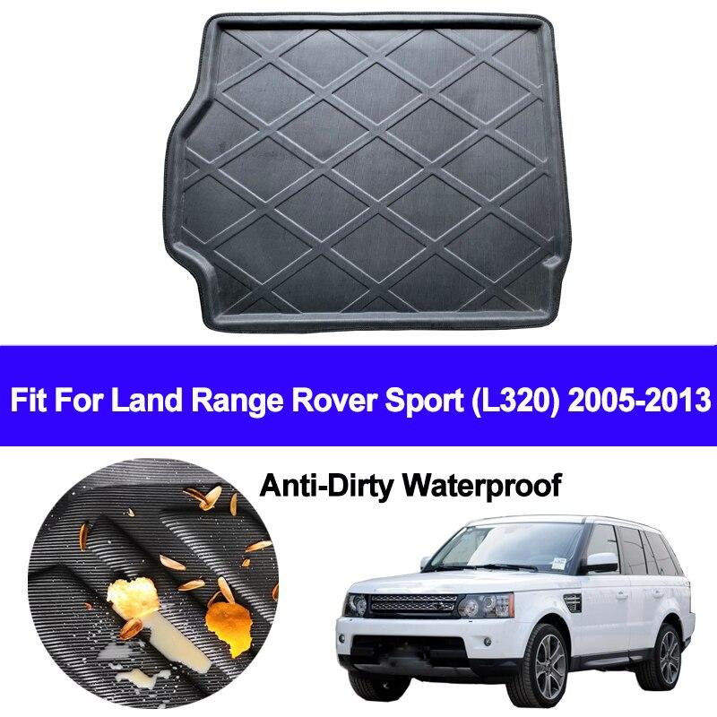 Car Rear Trunk Mat Cargo Tray Boot Liner Carpet Protector Floor Pad Mats For Land Range Rover Sport L320 2005 2011 2012 2013