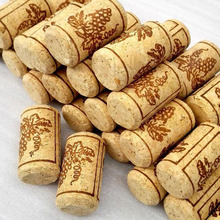500 pcs/lot 22*44mm Natural Wood Corks Wine Bottle Stopper Unused Straight Round Cork Plug Sealing Caps Bar Tool ZA3369(China)