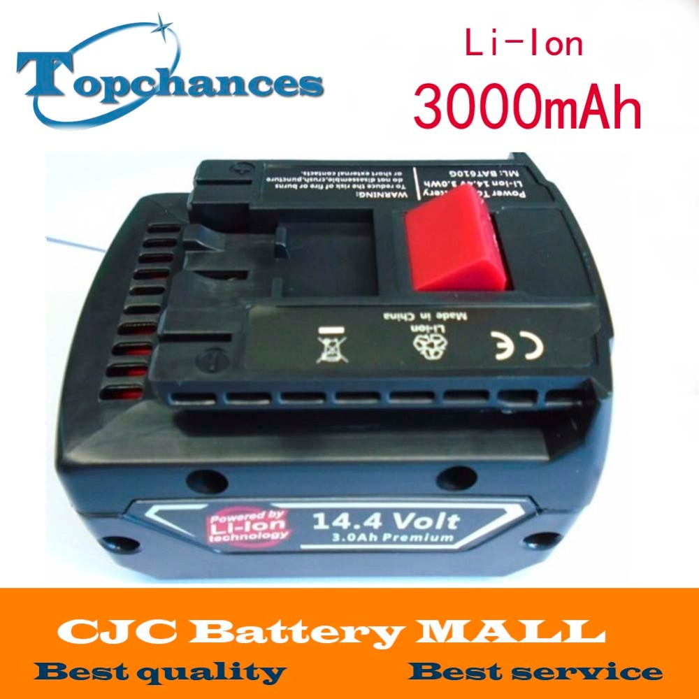 CE Testified Replacement Power Tool Rechargeable Battery for Bosch 14.4V Li-ion 3.0Ah 2607335711 BAT038 BAT040 BAT041 BAT140 panku 14 4v 3 0ah replacement battery for bosch bat038 bat040 bat041 bat140 bat159 bat041 2607335534 35614 13614 3660k 3660ck