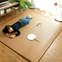 Japanese tatami carpet summer cool thick Rattan mat cane carpet livingroom and bedroom bed rug kid play tapete customized