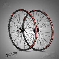 RS904 C9.0 MTB Mountain Bike aluminum double rims 27.5/29inch wheelset sealed bearing 32 hole round spoke Off road riding wheel