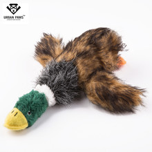 2019 New Listing Europe And The United States Hot Selling Pet Voice Toys Forgive Duck Wild Plush Cross-border Direct Dogs