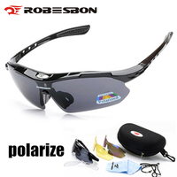 ROBESBON Polarized Cycling Glasses Bicycle Sun Glasses UV400 Eyewear Sport Sunglasses Bicycle Glasses Mountain Road Bike